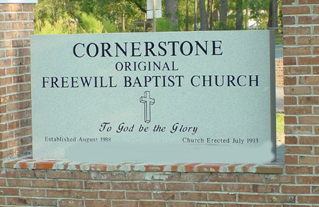 CORNERSTONENCSIGN